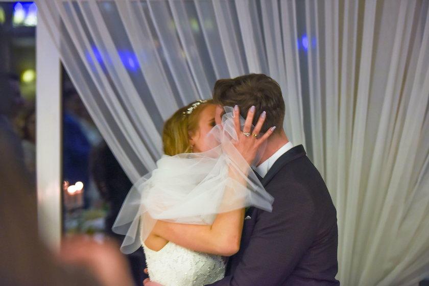 Daniel Martyniuk z żoną Eweliną