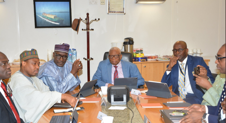 Nigeria LNG Special Board Meeting where shareholders took the Final Investment Decision (FID) for Train 7 Project on december 27, 2019 (Twitter/NNPC)