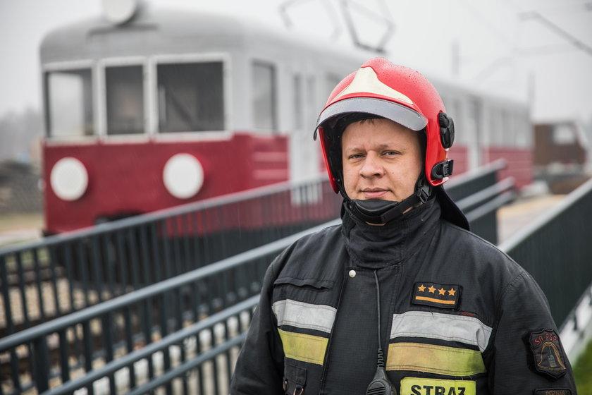 Trenażer poznańskich strażaków