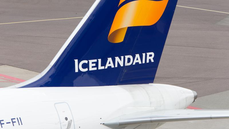 Samolot linii Icelandair