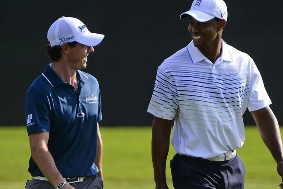 Rory McIlroy i Tiger Woods