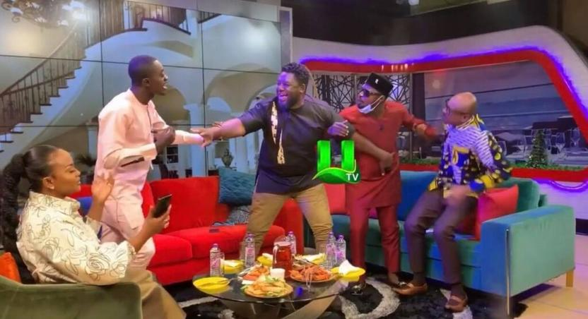 Funny Face and Lil Win fight on UTV
