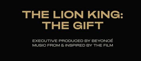 The Lion King: The Gift cover art, produced by Beyonce. (Beyonce)