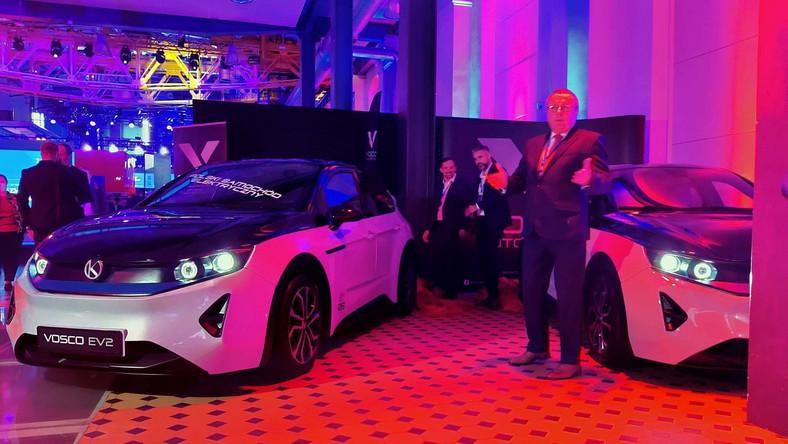 Vosco EV2 - podwójna premiera podczas podczas Kongresu Nowej Mobilności w Łodzi