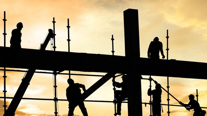 Robotnik budowlany