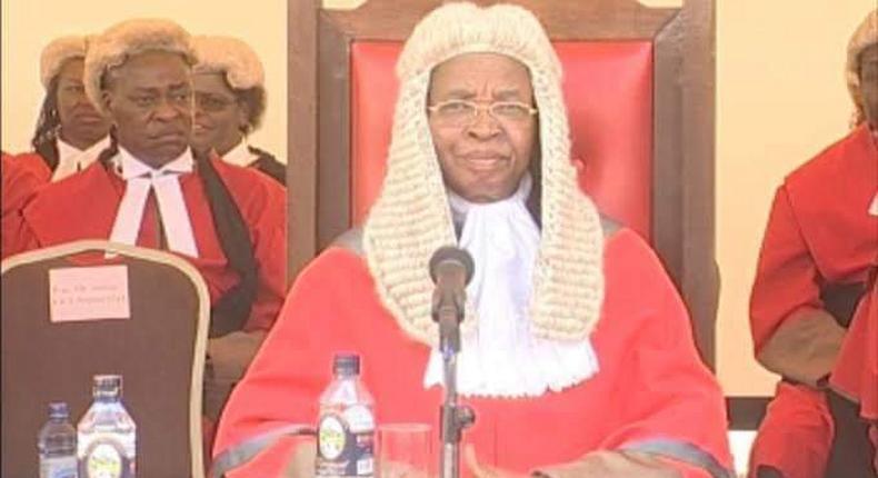 Ex-Chief Justice Evans Gicheru dies aged 79