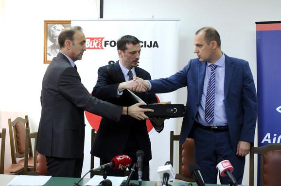 Dane Kondić, Zoran Radovanović i Zlatibor Lončar