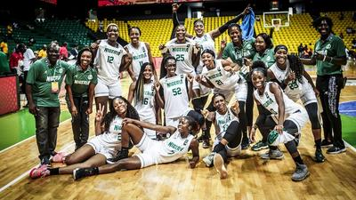 D'Tigress of Nigeria thrash DR Congo in quarter-finals of 2019 Women's Afrobasket