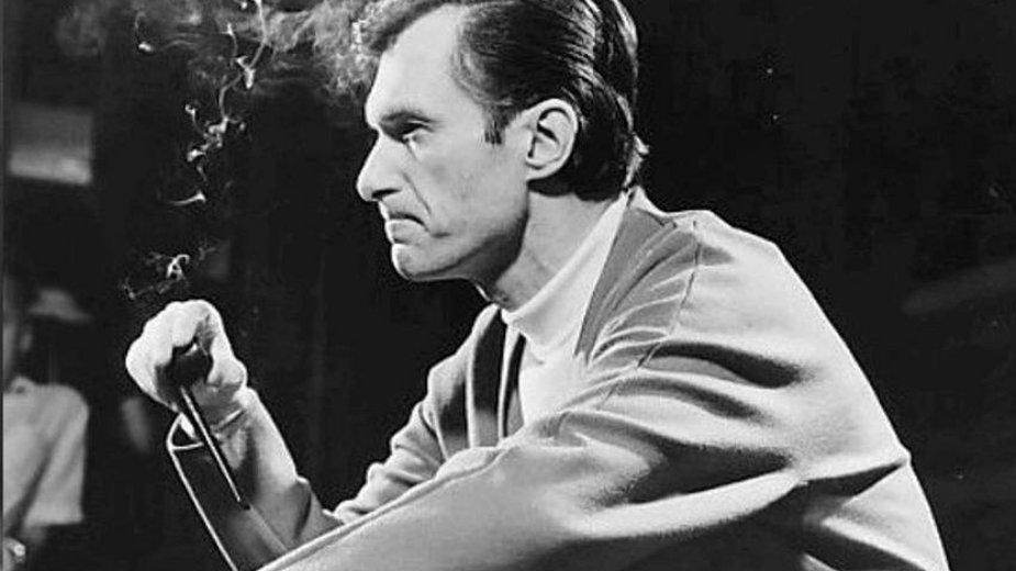 Hugh Hefner w 1966 roku - domena publiczna