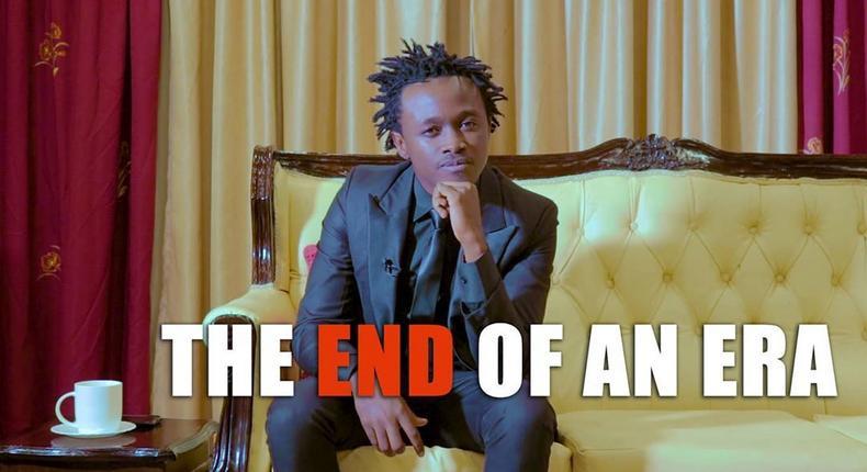 Bahati shuts down EMB Record Label (Video)