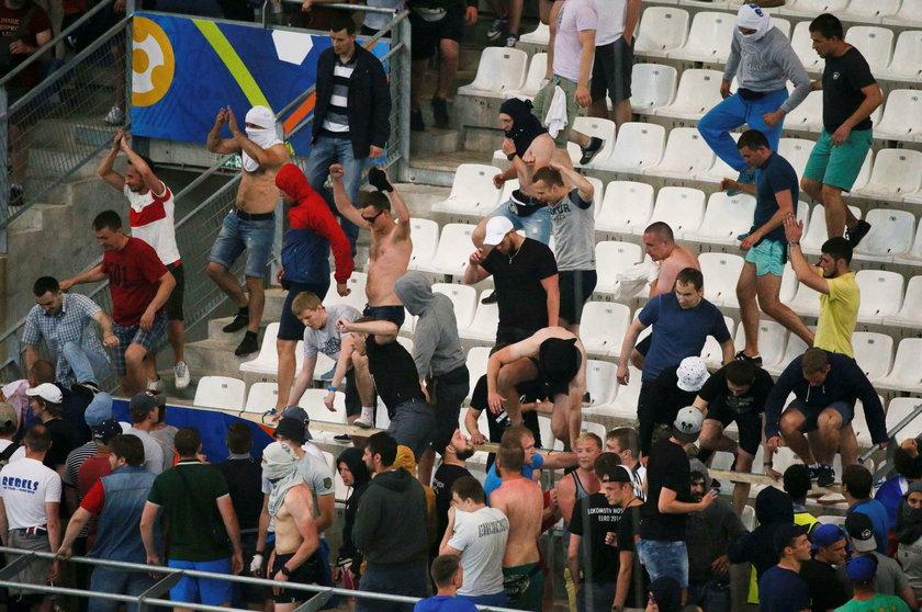 UEFA surowo ukarała Rosję za burdy jej kibiców