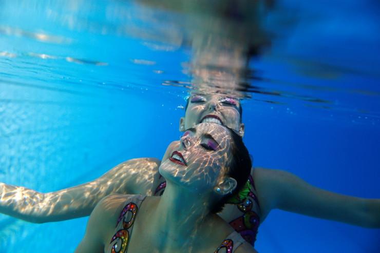 Brazilski tim u sinhronom plivanju: PRIPREME ZA OLIMPIJADU