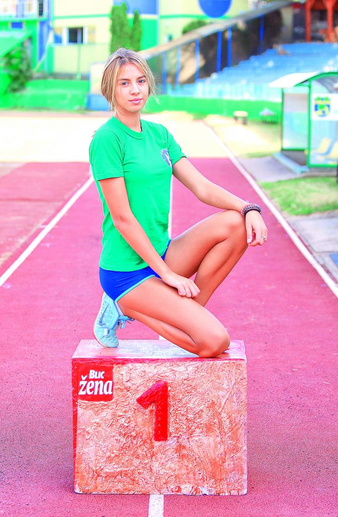 Zorana Rokavec je najbolja mlada atletičarka u Srbiji u skoku uvis