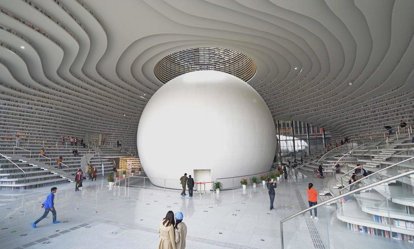 Cud architektury. Ta biblioteka zapiera dech w piersi!