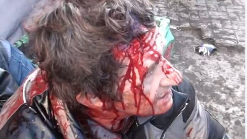 Kadr z jednego z filmów z Kijowa