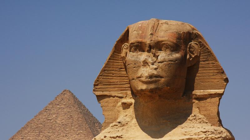 Sfinks i archeologiczny spisek