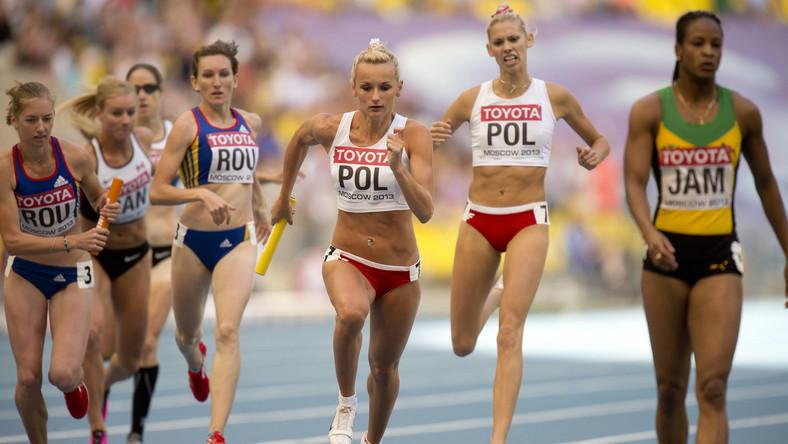 Kobieca sztafeta Jamajki 4x400 m zdyskwalifikowana