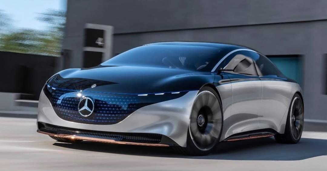 """Mercedes bringt futuristischen Elektro-Wagen """"EQS"""""""