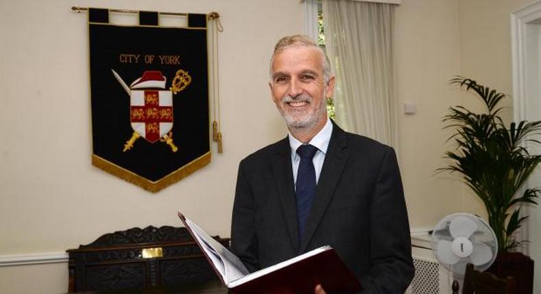 Robert Livesey, who is retiring after 25 years in York