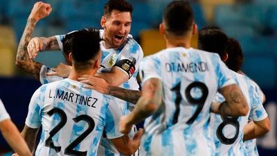 L'argentine remporte la Copa America