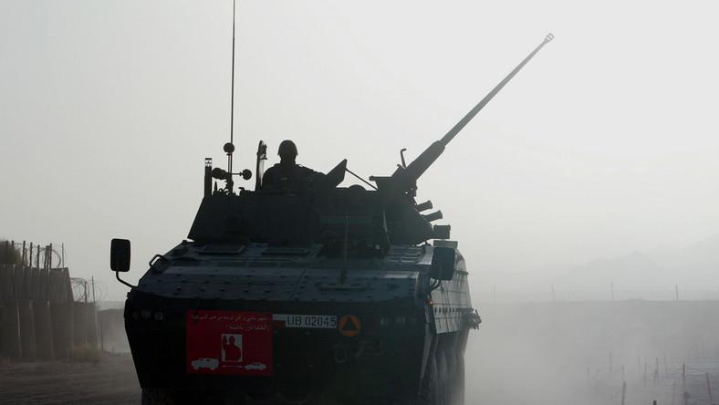 Na widok polskich rosomaków talibowie rzucili się do ucieczki