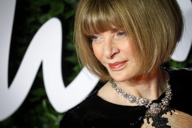 Ana Vintur na dodeli Britanskog modnog Oskara