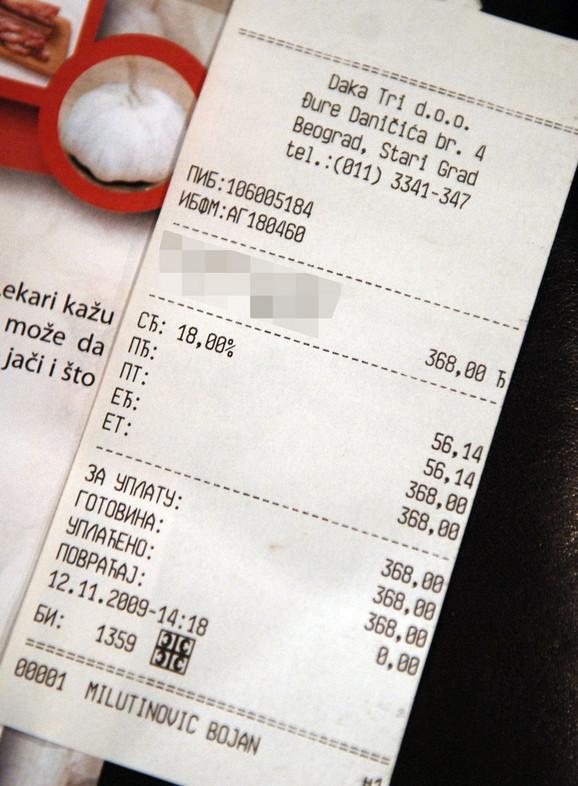 NALED:Ugostitelji svakom drugom gostu ne izdaju račun