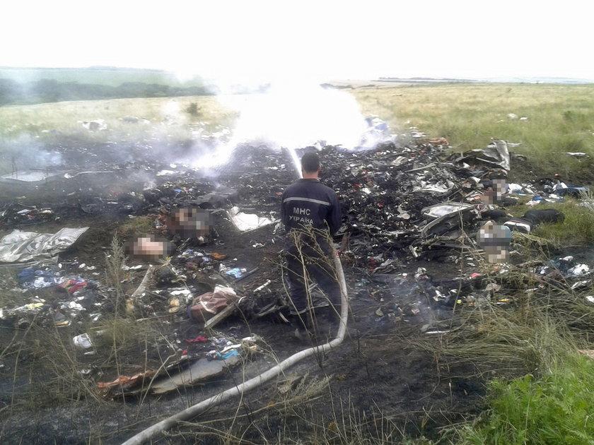 W lipcu 2014 roku na terenie wschodniej Ukrainy zestrzelono samolot