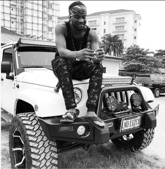Paul Okoye got a distrubing message from a follower on Instagram begging $2M to start up a business [Instagram/RudeboyPsquare]