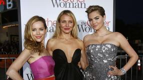 """Kate Upton, Cameron Diaz i Leslie Mann na premierze """"Innej kobiety"""""""