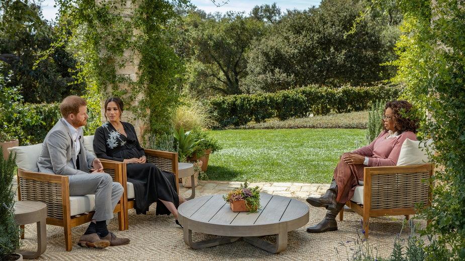 Książę Harry, Meghan Markle i Oprah Winfrey