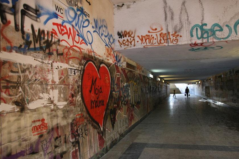 Graffiti w Cisowej