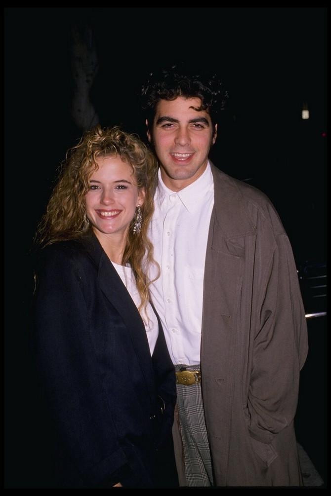 Kluni sa Keli Preston 1988. godine