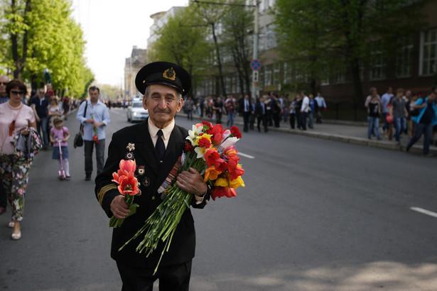 Parada w 2013 roku w Kaliningradzie z okazji Dnia Zwycięstwa
