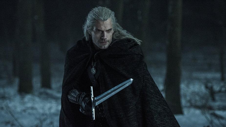 "Henry Cavill jako Geralt z Rivii, serial ""Wiedźmin"" (2019)"