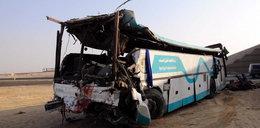 Wypadek autokaru w Egipcie. Nie żyje 14 osób