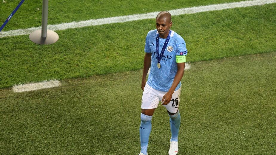 Fernandinho po przegranym finale Ligi Mistrzów