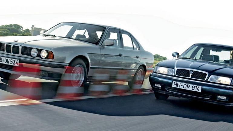 BMW 525i kontra Rover 827 - który klasyczny sedan będzie lepszym wyborem?
