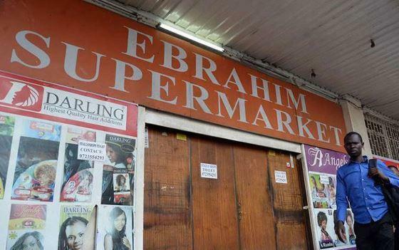 Ebrahim Supermarket Moi Avenue