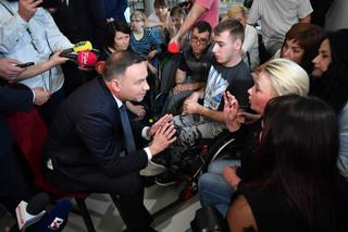 Kancelaria Prezydenta: Spisano postulaty protestujących w Sejmie; Reprezentatka protestujących: jesteśmy zadowoleni