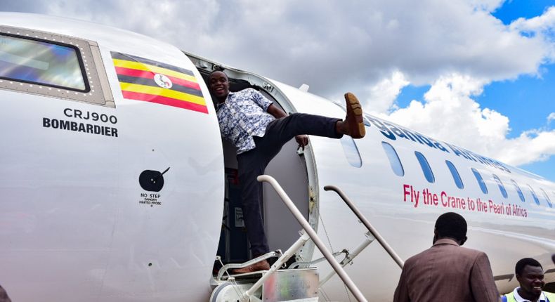 Uganda Airlines.