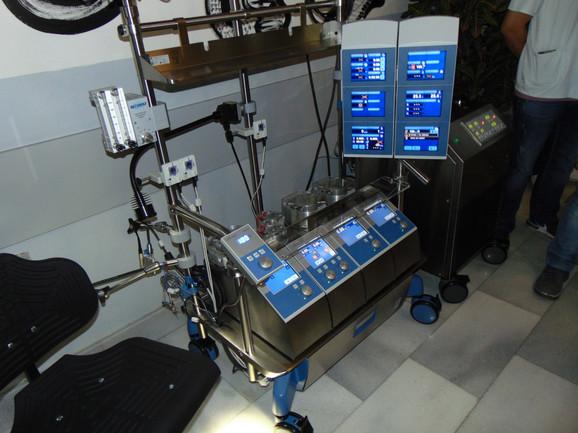 Zahvaljujući novoj opremi biće duplirane operacije na kardiohirurgiji u KC Niš
