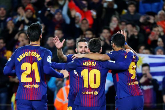 Slavlje fudbalera Barselone