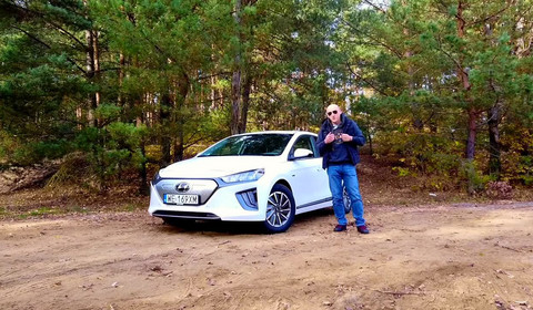 Hyundai Ioniq electric - Robert testuje