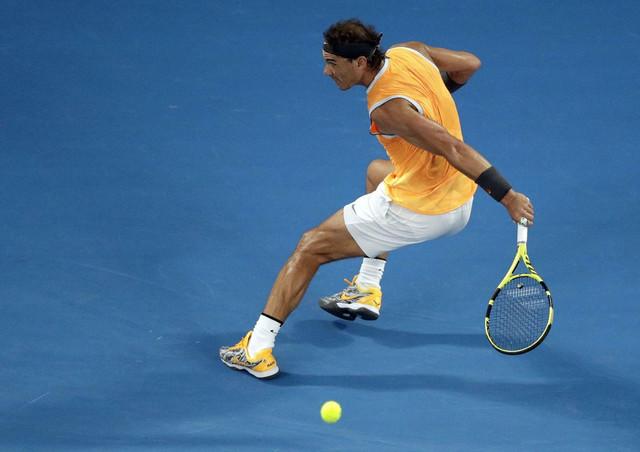 Rafael Nadal tokom polufinala Australijan opena