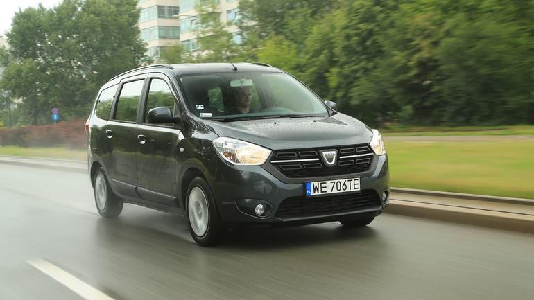 Dacia Lodgy 1.6 SCe 100 LPG - w siódemkę taniej się nie da