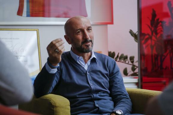 Ranko Popović u redakciji