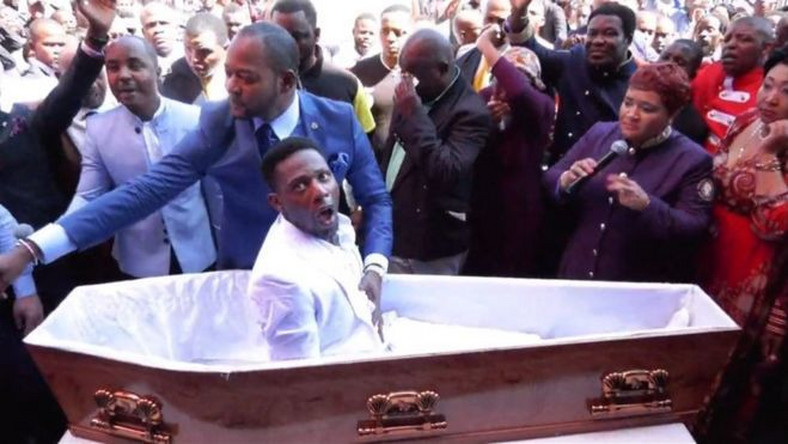 3 funeral firms to sue South African pastor for 'resurrection stunt'