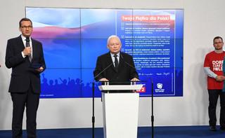 Kaczyński i Morawiecki na otwarciu Parku Pamięci Narodowej przy uczelni o. Rydzyka