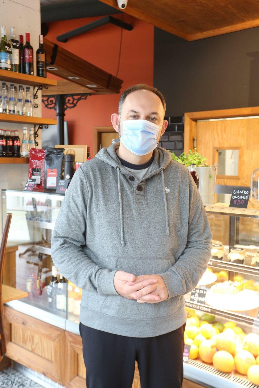 Mariusz Okliński (49 l.), właściciel Columbus Bistro & Cafe w Gdańsku Wrzeszczu: Marże dostawców trzeba obniżyć!